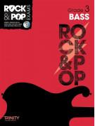 Rock & Pop Exams: Bass Grade 3 (book/CD)
