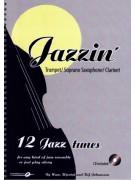 Jazzin': Trumpet / Soprano Sax / Clarinet (book/CD play-along)