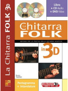 La chitarra folk in 3D (libro/CD/DVD)