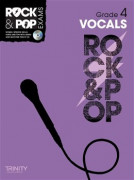 Rock & Pop Exams: Vocals Grade 4 (book/CD)