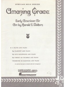 Amazing Grace - C flute & piano