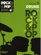 Rock & Pop Exams: Drums Grade 8 (book/CD)