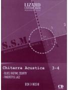 Scuola di chitarra acustica 3-4 (book/CD)