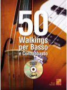50 Walking per basso e contabbasso (libro/CD MP3)