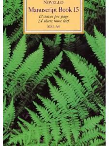 Quaderno - Manuscript Book 15