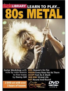 Lick Library: Learn To Play 80s Metal (2 DVD)