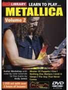 ick Library: Learn to Play Metallica Volume 2 (2 DVD)