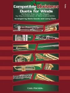 Compatible Christmas Duets For Winds - Alto Sax/Baritone Eb
