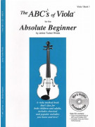 ABC's of Viola for the Absolute Beginner (book/MP3 Audio)
