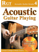 RGT - Acoustic Guitar Playing - Grade 4 (book/CD)