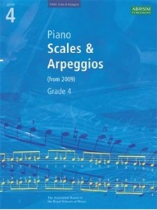 ABRSM: Piano Scales & Arpeggios (Grade 4)