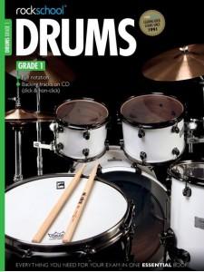 RockSchool Drums: Grade 1 - 2012-2018 (book/CD)