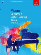 ABRSM: Piano Specimen Sight-Reading Tests, Grade 1