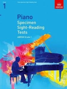 ABRSM: Piano Specimen Sight-Reading Tests, Grade 1