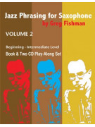 Jazz Phrasing for Saxophone 2 (book/2 CD play-along)