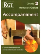 RGT - Acoustic Guitar Accompaniment - Grade 3 (book/CD)