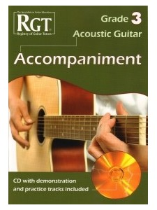 Guitar Rgt Acoustic Guitar Grade 3 Accompaniment Cd
