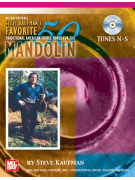 Steve Kaufman's Favorite 50 Mandolin, Tunes N-S (book/CD)