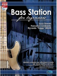 Bass Station for Beginners (book/CD)