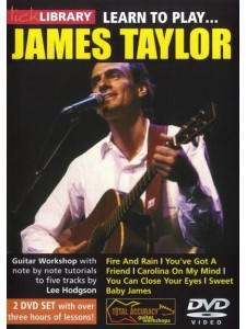 Lick Library: Learn to Play James Taylor (DVD)