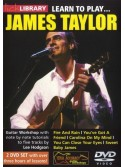 Lick Library: Learn to Play James Taylor (2 DVD)