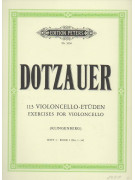 Dotzauer - 113 Violoncello Etuden - Part I