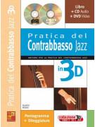 Pratica del contrabbasso jazz in 3D (libro/CD/DVD)