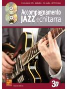 Accompagnamento jazz alla chitarra in 3D (libro/CD/DVD)