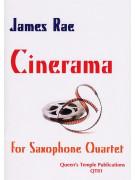 James Rae: Cinerama (Saxophone Quartet)