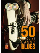 50 Linee di Basso Blues (libro/CD/DVD)