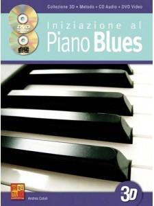 Iniziazione al Piano blues in 3 D (libro/CD/DVD)