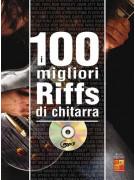 I 100 migliori riffs di chitarra (libro/CD MP3)