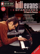 Jazz Play-Along volume 141: Bill Evans Standards (book/CD)