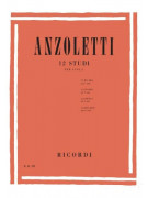 Anzoletti - 12 studi per Viola