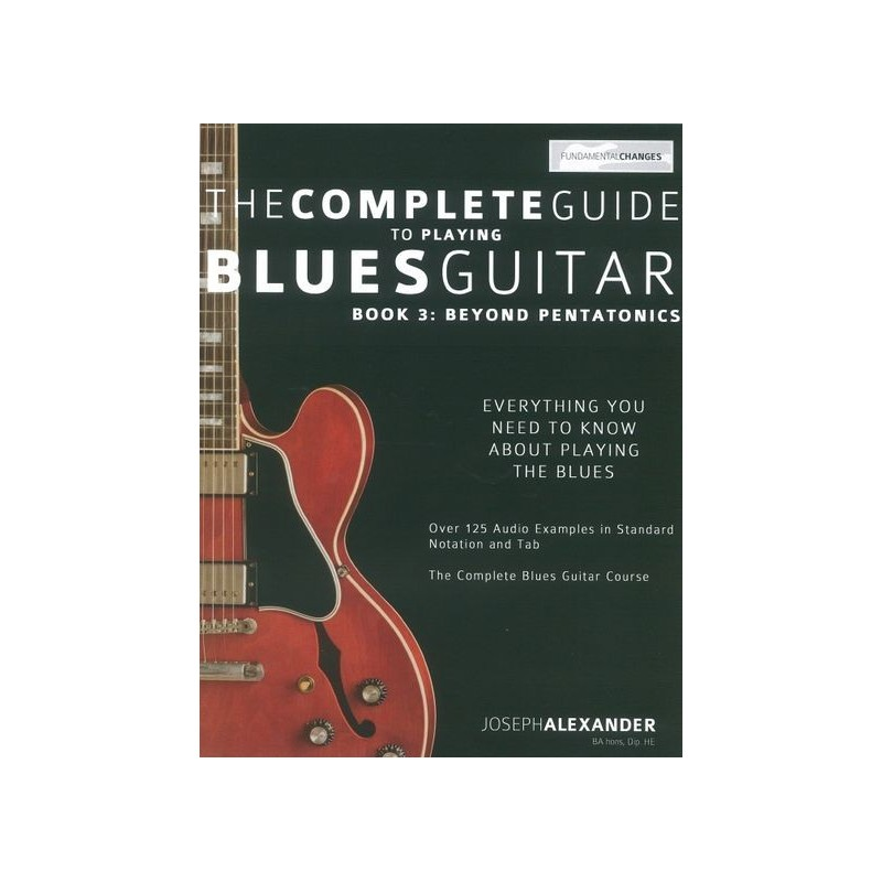 the complete guide to playing blues guitar pdf