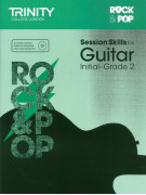 Rock & Pop : Session Skills for Guitar Initial-Grade 2 (book/CD)