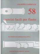 58 esercizi per flauto traverso