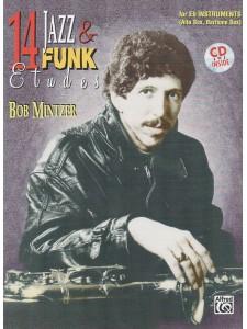 14 Jazz & Funk Etudes (book/CD play-along)