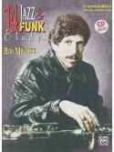 14 Jazz & Funk Etudes: B-Flat Instrument (book/CD play-along)