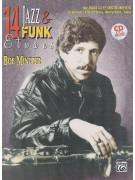 14 Jazz & Funk Etudes: Bass Clef Instruments (book/CD)