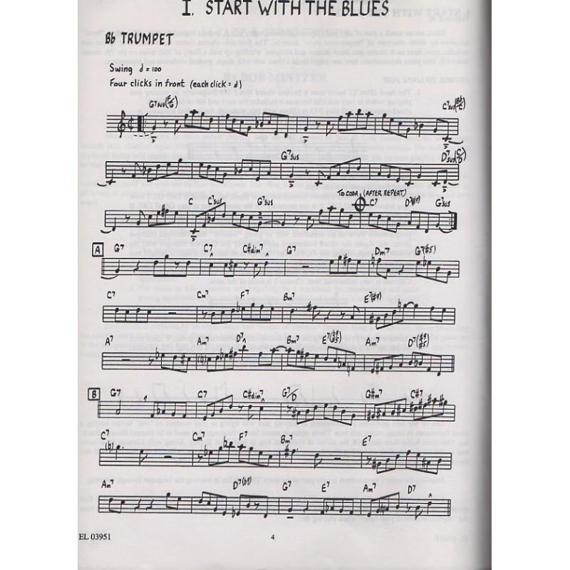 bob mintzer trumpet, jazz etudes trumpet
