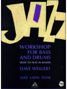 Jazz Workshop for Bass & Drums (book/CD play-along)