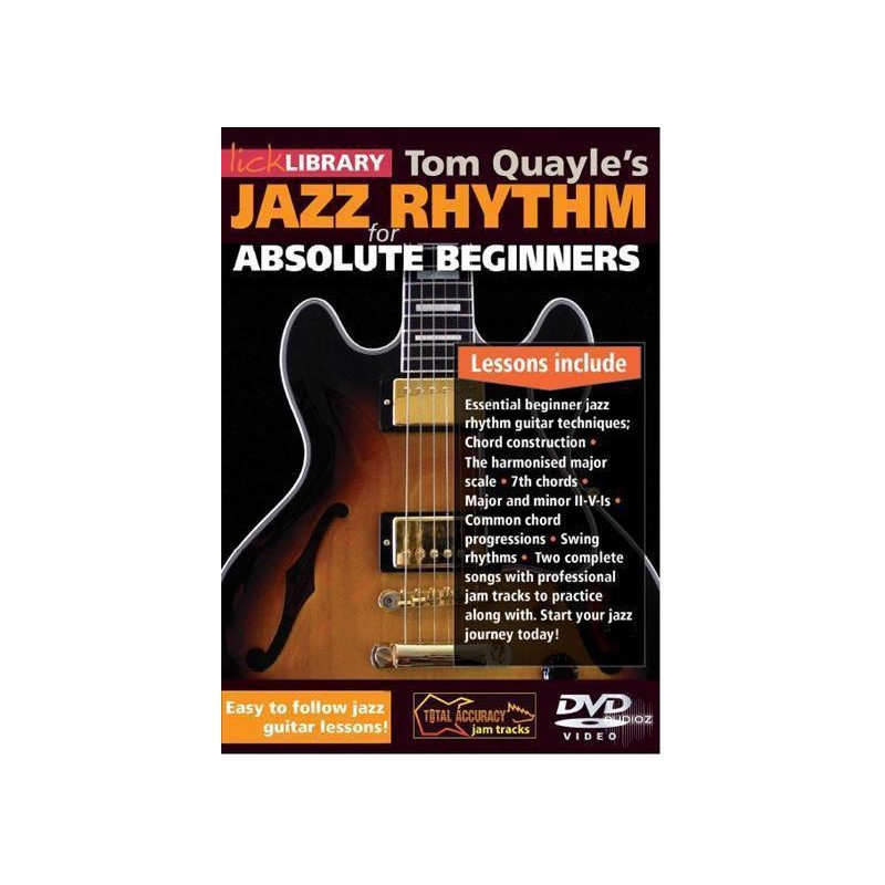 Tom Quayle Jazz Rhythm For Absolute Beginners Dvd Birdland Shop