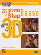 200 grooves slap basso in 3D (libro/CD/DVD)