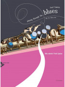 Playing Through the Blues: For Alto Saxophone (book/CD play-along)
