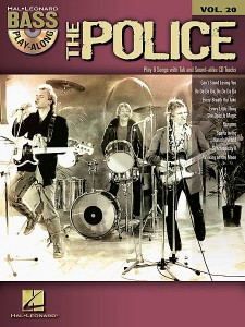 The Police: Bass Play-Along Volume 20 (book/CD)