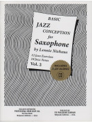 Basic Jazz Conception for Saxophone Volume 2 (book/CD play-along)