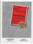 Jazz Conception For Saxophone - Basic 1 (Book/CD)