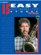 15 Easy Jazz, Blues & Funk Studies - C Instruments (book/)