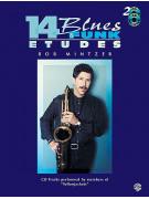 14 Blues & Funk Etudes (book/2 CD play-along)